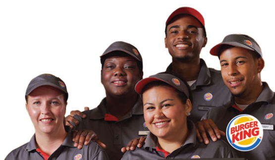 employee motivation of burger king and mcdonalds -a good high school and startup job-scholarships opportunities for the employees - good discounts of food - team work and helpful co-workers cons - hot environment - non-stop work - fast paced work usually you cannot fully satisfy a customer - you eat fast food and gain alot of weight.